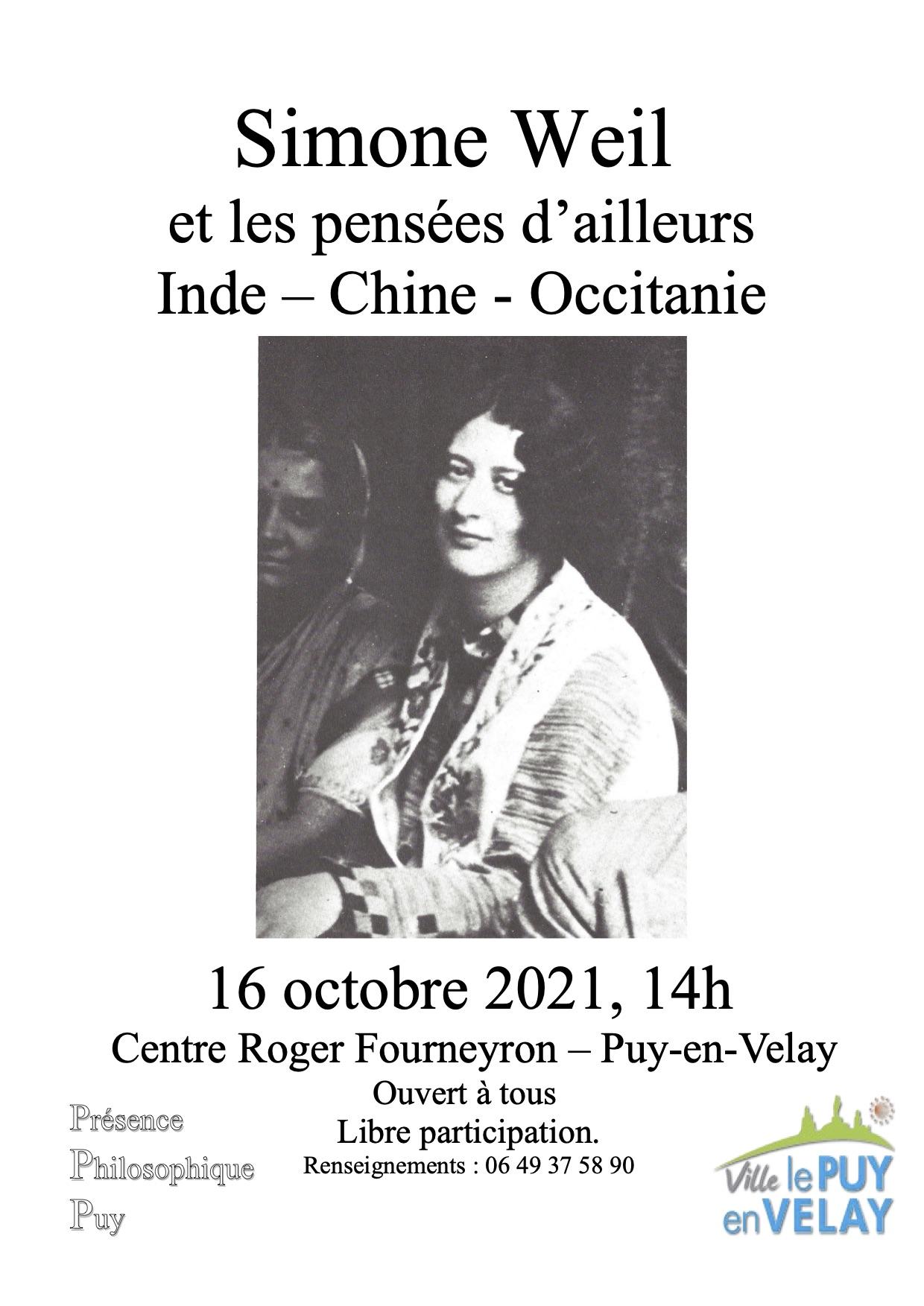 Passage et présence de Simone Weil