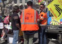 SNCF : 8e jour de grève des cheminots (19/04/18)