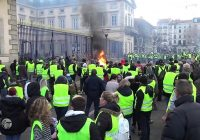 Gilets Jaunes : Manifestation au Puy-en-Velay le 01/12/18.