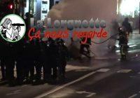 Le Puy-en-Velay 08/12 : Il fait reculer la police