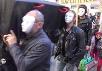 Migrants : déambulation au Puy-en-Velay, le 26/10/19