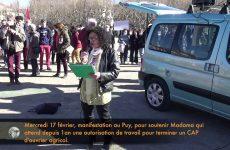 Mercredi 17 février, pour Madama au Puy-en-Velay, intervention de Véronique de Marconnay