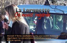 Mercredi 17 février, pour Madama au Puy-en-Velay, intervention de l'intersyndicale des enseignants de Haute-Loire
