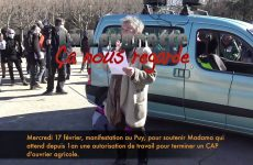 Mercredi 17 février, pour Madama au Puy-en-Velay, intervention de RESF43
