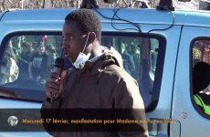Mercredi 17 février, pour Madama au Puy-en-Velay, intervention de Aboubacar